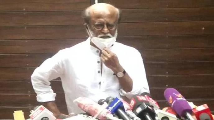 Rajinikanth says will declare decision on entering politics as soon as possible